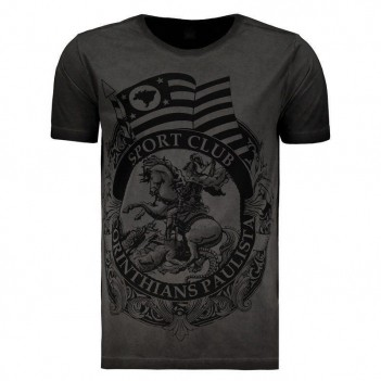 Camiseta Corinthians Eagle Chumbo