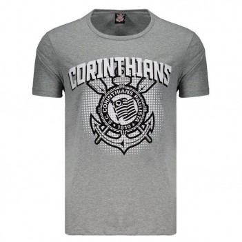 Camiseta Corinthians Morris Cinza Mescla