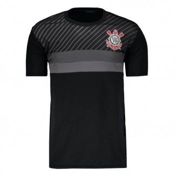 Camisa Corinthians Preta Faixas