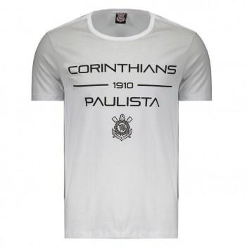 Camiseta Corinthians Spray Branca