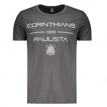 Camiseta Corinthians Spray Cinza