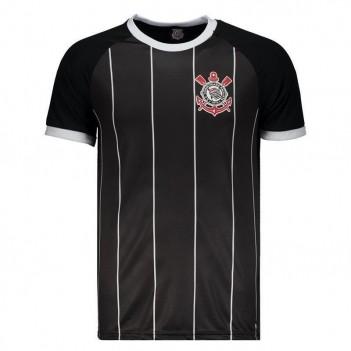 Camisa Corinthians Sublimadas Preta