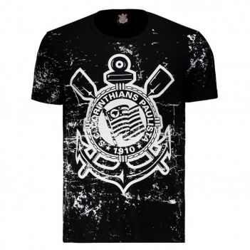 Camiseta Corinthians Thread Preta