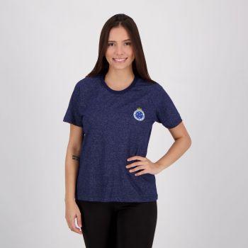 Camiseta Cruzeiro About Feminina Azul