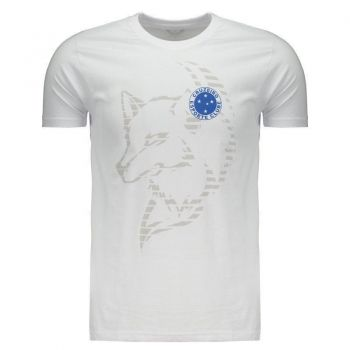 Camiseta Cruzeiro Fox Lines Branca