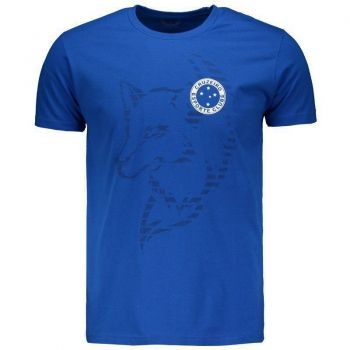 Camiseta Cruzeiro Fox Lines Royal