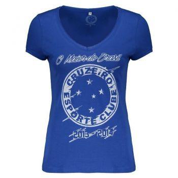 Camiseta Cruzeiro Maior do Brasil Feminina