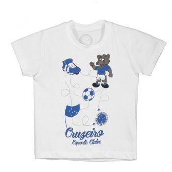 Camiseta Cruzeiro Mapa Infantil