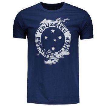 Camiseta Cruzeiro Sky Marinho