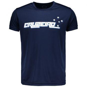 Camiseta Cruzeiro Stars Marinho