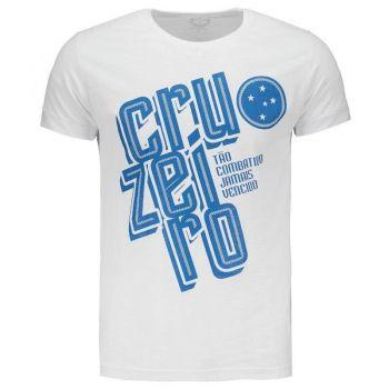 Camiseta Cruzeiro Tão Combatido Branca