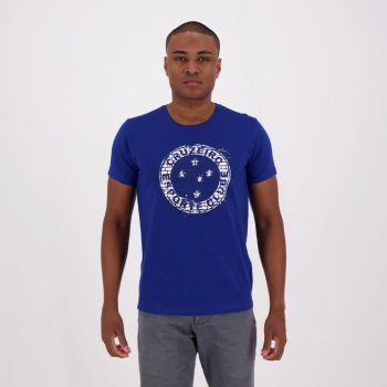 Camiseta Cruzeiro Wall Royal
