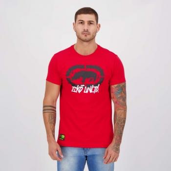 Camiseta Ecko Basic Slime Vermelha