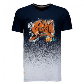 Camiseta Ecko Navy Hipnose Marinho