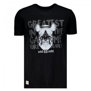 Camiseta Ecko Estampada Preta Rinoceronte