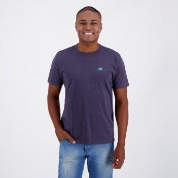 Camiseta Ecko Fashion Basic Marinho Mescla