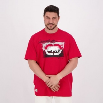 Camiseta Ecko Graphic Estampada Vermelha