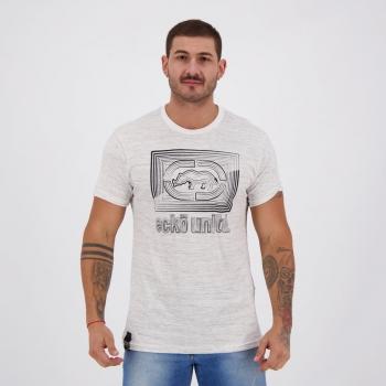 Camiseta Ecko Neon Estampada Branca