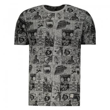 Camiseta Fatal Especial Cinza