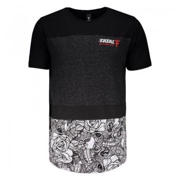 Camiseta Fatal Especial Preto Mescla