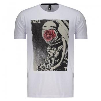 Camiseta Fatal Logo Branca