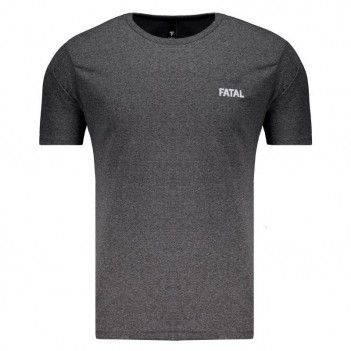 Camiseta Fatal Fashion Basic Grafite Mescla