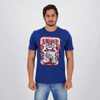 Camiseta Fatal Shave Barber II Azul