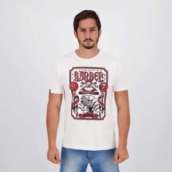 Camiseta Fatal Shave Barber II Branca