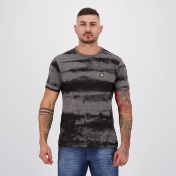 Camiseta Fatal Stamped Grafite Mescla