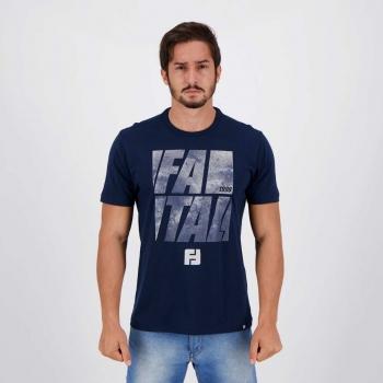 Camiseta Fatal Teen Evolution Marinho