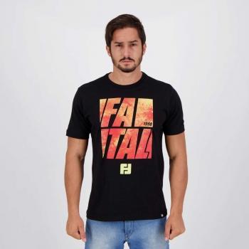 Camiseta Fatal Teen Evolution Preta