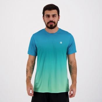 Camiseta Fila Aztec Box Azul