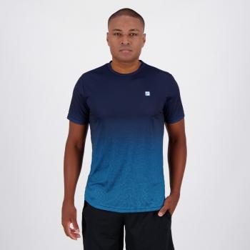 Camiseta Fila Aztec Box Azul Marinho