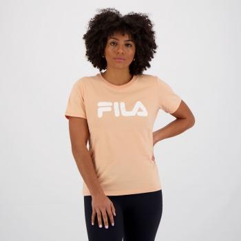 Camiseta Fila Basic Letter Feminina Laranja