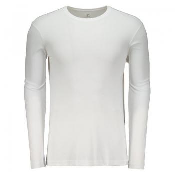Camiseta Fila Basic Sunprotect UV Manga Longa Branca