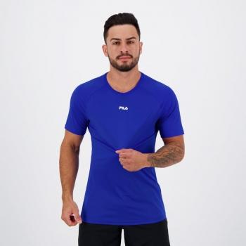 Camiseta Fila Basic Train Azul