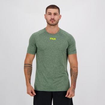 Camiseta Fila Basic Train Verde
