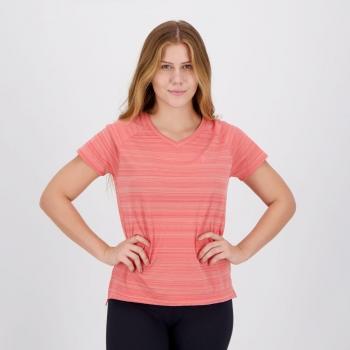 Camiseta Fila Match II Feminina Rosa