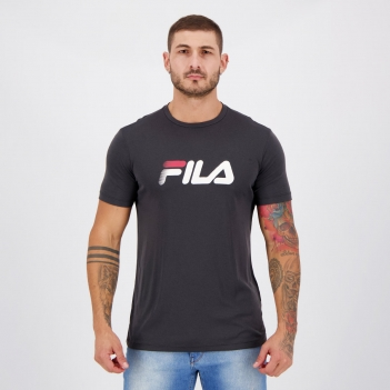 Camiseta Fila Run Go To Mars Grafite