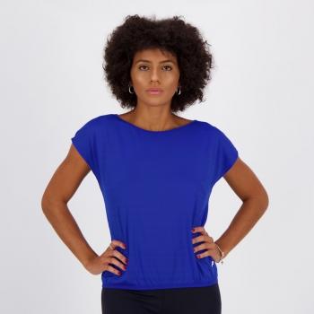 Camiseta Fila Satiny Feminina Azul