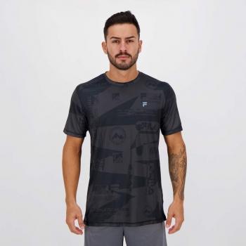 Camiseta Fila Treknology Chumbo