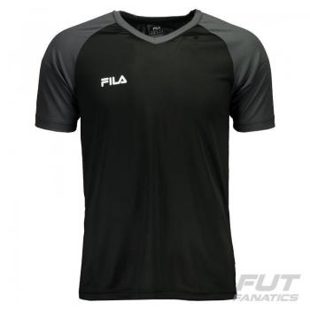 Camiseta Fila Vitalli II Preta