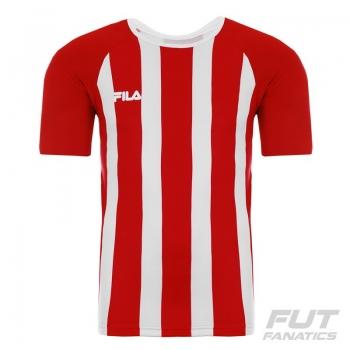 Camisa Fila Winner Vermelha e Branca