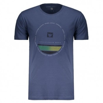 Camiseta Hang Loose Circlestripe Azul