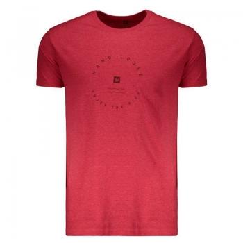 Camiseta Hang Loose Enjoy Vermelha