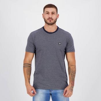 Camiseta Hang Loose Fine Stripe Azul