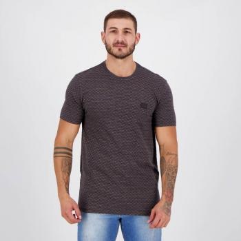 Camiseta Hang Loose Jacquard Chumbo
