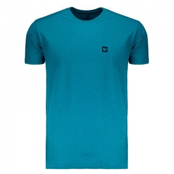 Camiseta Hang Loose Logo Ocean Azul