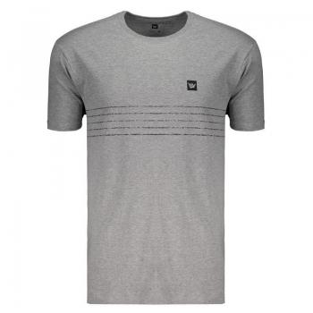 Camiseta Hang Loose Sets Cinza Mescla