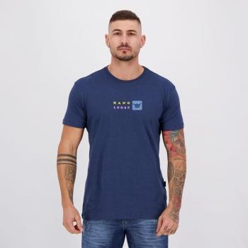 Camiseta Hang Loose Silk Aloha Marinho Mescla